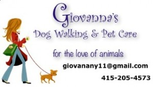 Giovanna Dog Walking